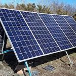 Borehole pumps powered by solar